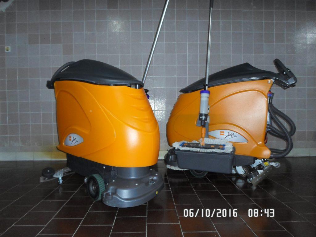 Maszyny czyszczące z własnym napędem