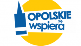 Logotyp Opolskie się wspiera